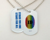 Exclusive PrideID/GLAAD Inspired Dog Tag